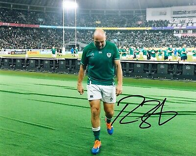 Rory BEST Signed 10X8 Photo Ireland Rugby ICONIC IMAGE AFTAL COA (B)