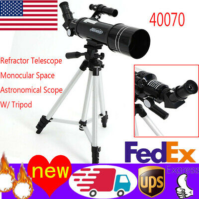 40070 Astronomical Refractor Telescope With Tripod For Beginners Optical Prism