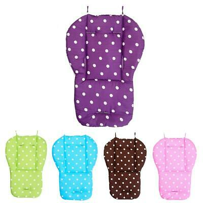 Baby Dot Stroller Seat Cushion Pushchair Pram Car Soft Cotton Pad Mat Accessory