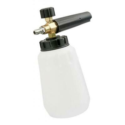 Adjustable Foam Cannon 1L Bottle Snow Foam Lance with 1/4-in Quick Connector