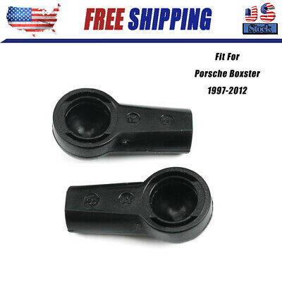 Porsche 996 Convertible Top BRACKETS Fasteners L and R 99656165500 99656165600