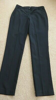 Girls Bootleg New Look 915 Generation Black school trousers Age 14