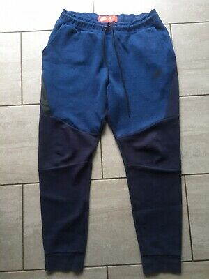 Nike Mens Blue Tracksuit Bottoms Size L. Great Condition.