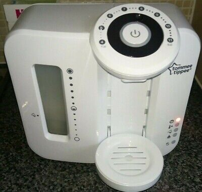 Tommee Tippee Perfect Prep Machine, White. Excellent Condition. Model: EP2262-V