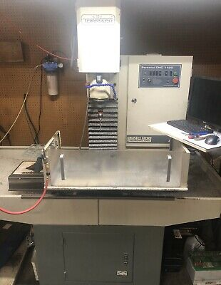 Tormach Cnc 1100 Series 3 Mill With Power Draw Bar And Tooling and 4th Axis