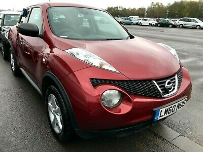2010/60 Nissan Juke 1.5 Dci Visia - 1 Owner, 8 Stamps, Alloys, Aircon, Mint