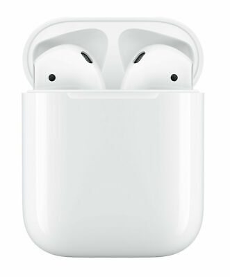 Apple AirPods 2nd Gen Bluetooth Headphones with Charging Case