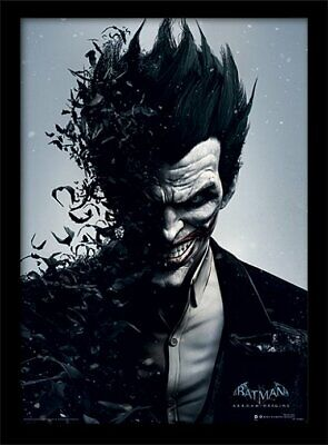 Batman Arkham Origins - Joker Framed 30 x 40cm Print