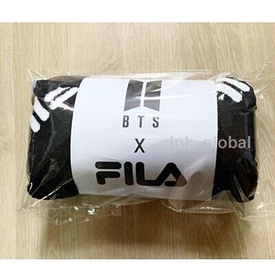 "BTS X FILA BLANKET Limited Official Goods ""Rare"" + Free Tracking Number"