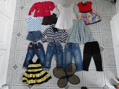 Girl Next bundle trousers dresses cardigan bumblebee costume age 2-3