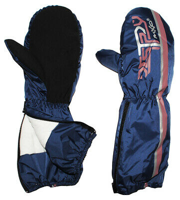 Gloves with Long Shaft - Zip - Thermal Padded Thermal Gloves