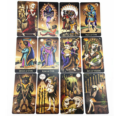 78 sheet/box Full English Version Tarot Cards Board Playing Party Game Cards