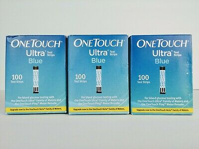 300 One Touch Ultra Blue Test Strips