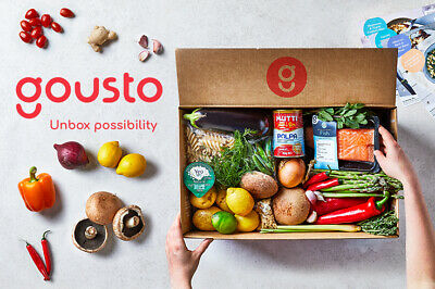 Gousto Referral Code Voucher Promo 60% Off 1St Box 30% Off For A Whole Month