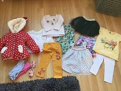 GIRLS TODDLER CLOTHES AGE 12-18 MONTH FROM NEXT etc