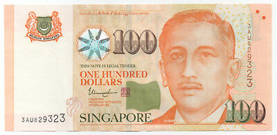 SINGAPORE $100 Portrait Series XF Condition Great Investment!