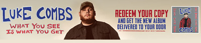 Luke Combs - What you See Is What You Get Album CD