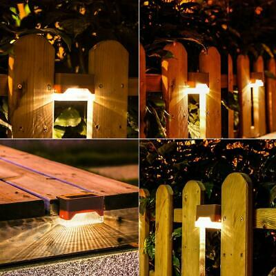 SOLAR POWER BURIED LIGHT GROUND OUTDOOR PATHWAY GARDEN LAWN DECKING LAMP FADDISH