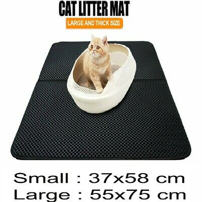 Cat Litter Mat Trapping Sifting Mats Waterproof Urine Repellent Mat Clean 2 size