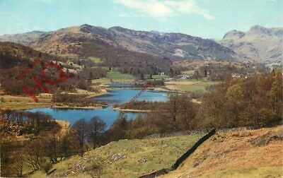 Picture Postcard::English Lake District, Elterwater Tarn And Langdale Pikes