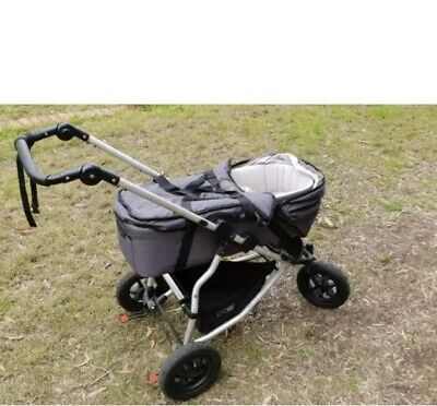 Mountain Buggy Carrycot with Storm cover
