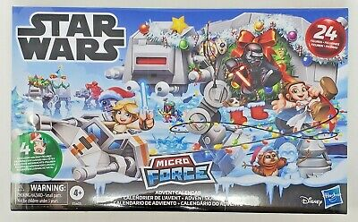 Sealed Star Wars Micro Force Advent Calendar 24 Figures by Hasbro Disney
