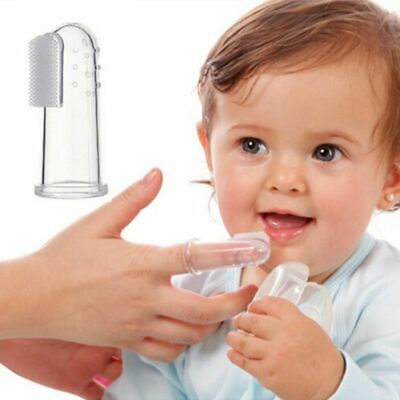 Healthy Silicone Teeth Cleaning Finger Toothbrush Infant Product Baby Care