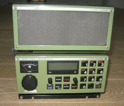 Sailor R2022 marine SSB receiver + H2074 loudspeaker tested