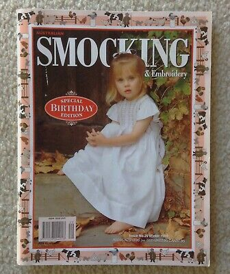 Australian Smocking & Embroidery magazine # 29 - Special Birthday Edition