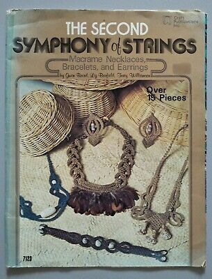 MACRAME- THE SECOND SYMPHONY OF STRINGS Necklaces, Bracelets & Earrings, Vintage