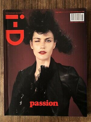 i-d magazine no. 244 2004 The passionate Issue Missy Rayder