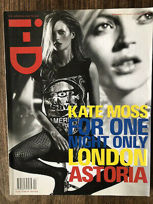 i-d magazine no. 242 2004 The location Issue Kate moss