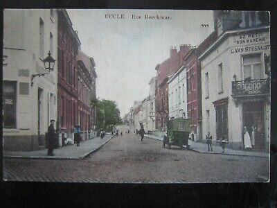 UCCLE - Rue Beeckman carte couleur