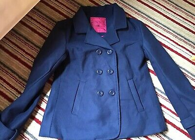 Young  Dimension Navy Girls Jacket Age 12-13
