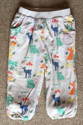 John Lewis Baby Girls  Cotton Needlecord Trousers. Age 12-18 Months.