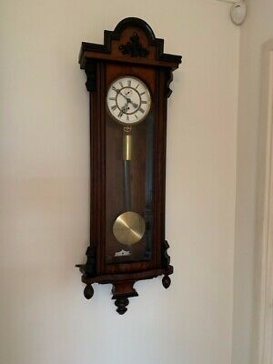 C19th Single Weight Vienna Regulator Wall Clock