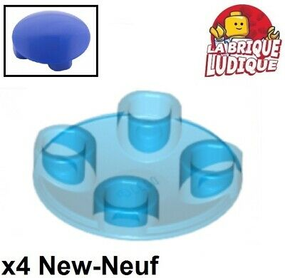 grey 10 x LEGO 2654 Plaque Ronde Inversée Round Plate 2x2 Inverted NEUF NEW