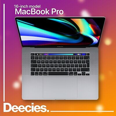 16-inch Apple MacBook Pro Touch Bar 2.3ghz 8-core i9 32gb 1TB SSD AMD 5500M