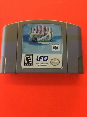 Super Bowling (Nintendo 64, 2001) Rare N64 Game Authentic