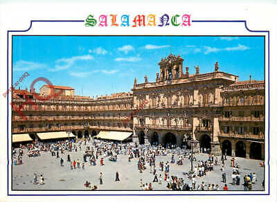 Picture Postcard:-Salamanca, Plaza Mayor