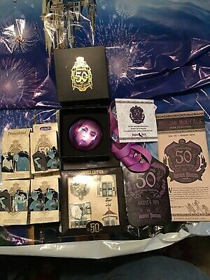 Disney Parks Haunted Mansion limited edition 50th Anniversary Pin Lot And More