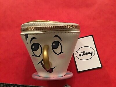 Disney primark beauty and the beast chip tea cup purse with label brand new