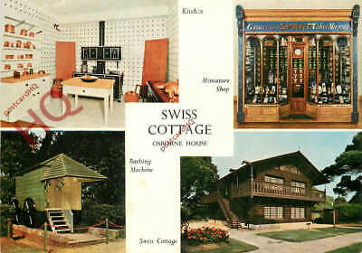 Picture Postcard>>Isle Of Wight, Osborrne House, Swiss Cottage