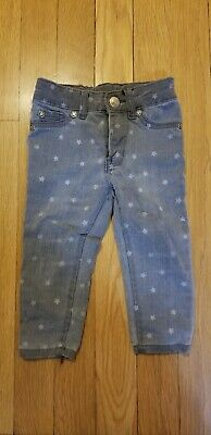 RUUM (Kids American Eagle Brand) Girls Grey Jeans with Stars 12 Months