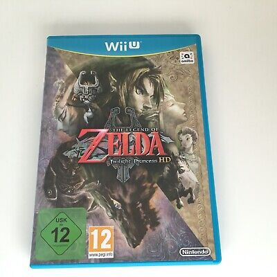 The Legend of Zelda Twilight Princess HD for Nintendo Wii U - Great condition