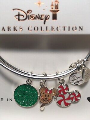 Disney Alex Ani Yummiest Time Of The Year 2019 Christmas Silver Bracelet