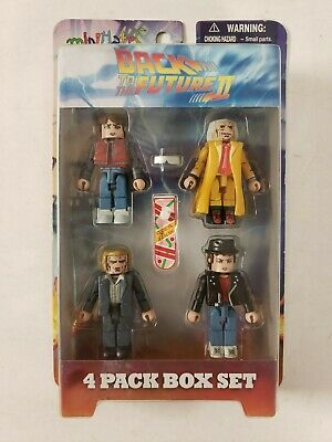 Minimates Back To The Future II DOC BROWN MARTY (2) ALTERNATE BIFF New Sealed