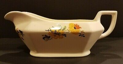 Antique/Vintage Homer Laughlin 1920 Yellowstone Gravy Boat