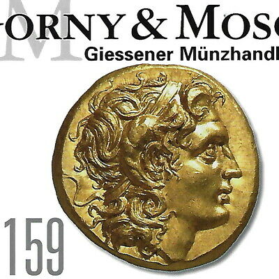 GORNY & MOSCH Ancient Greek,Roman High Quality Coin Auction 159 Catalog Oct 2007