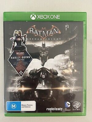 Xbox One Batman Arkham Knight Game And Case